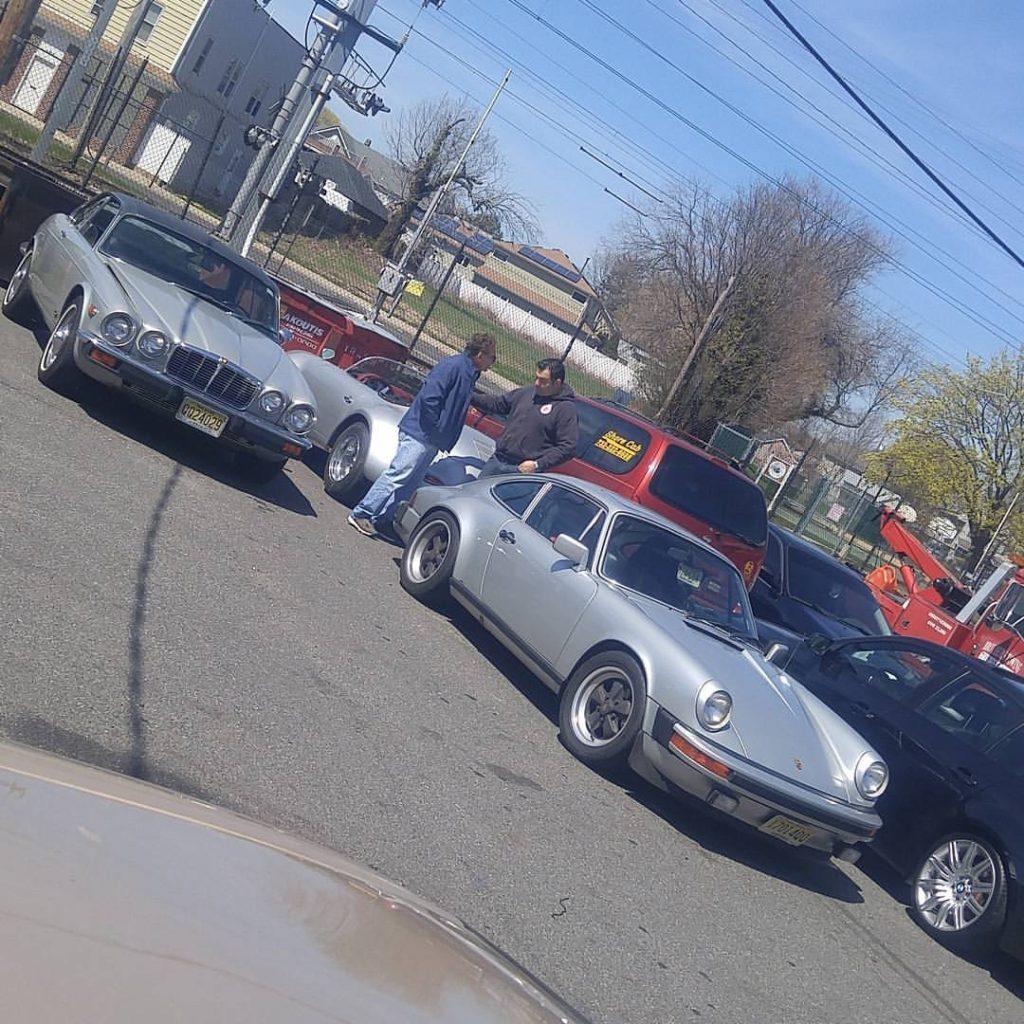 classic silver cars