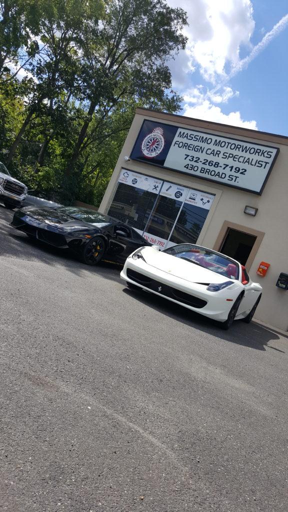 Lamborghini gallardo twin turbo and Ferrari 458 spyder