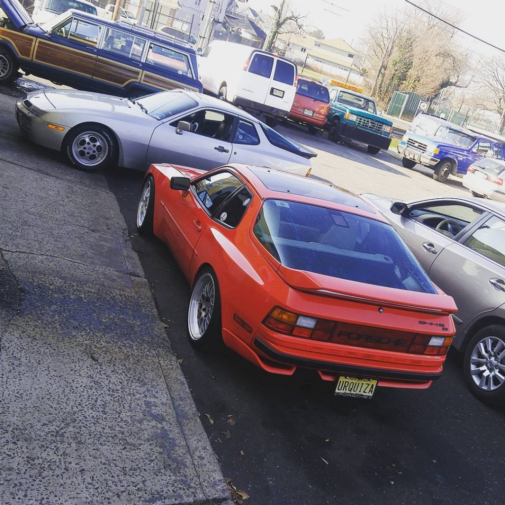 our own porsche 944 turbo and 944 s2