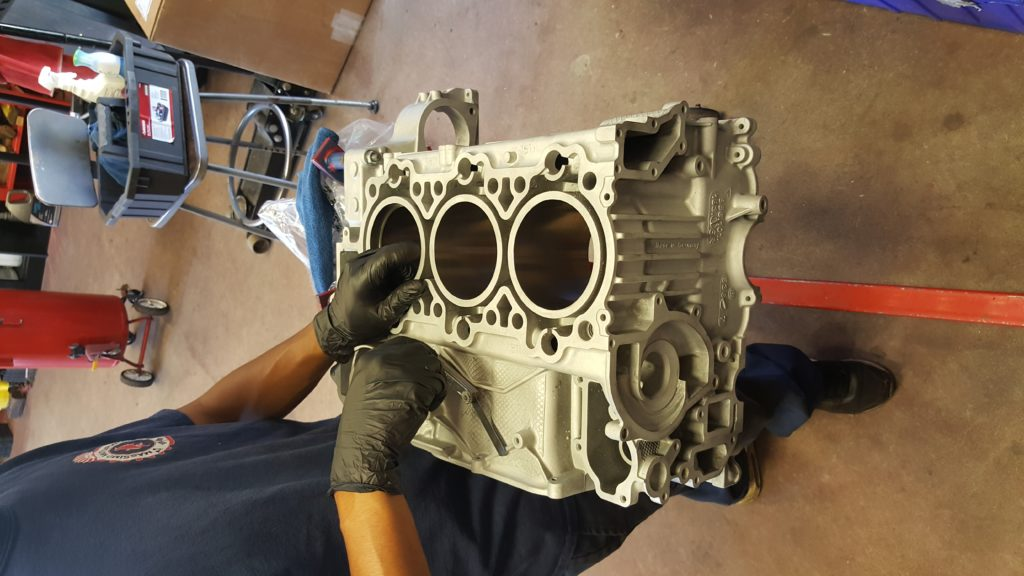 porsche 997 engine rebuild