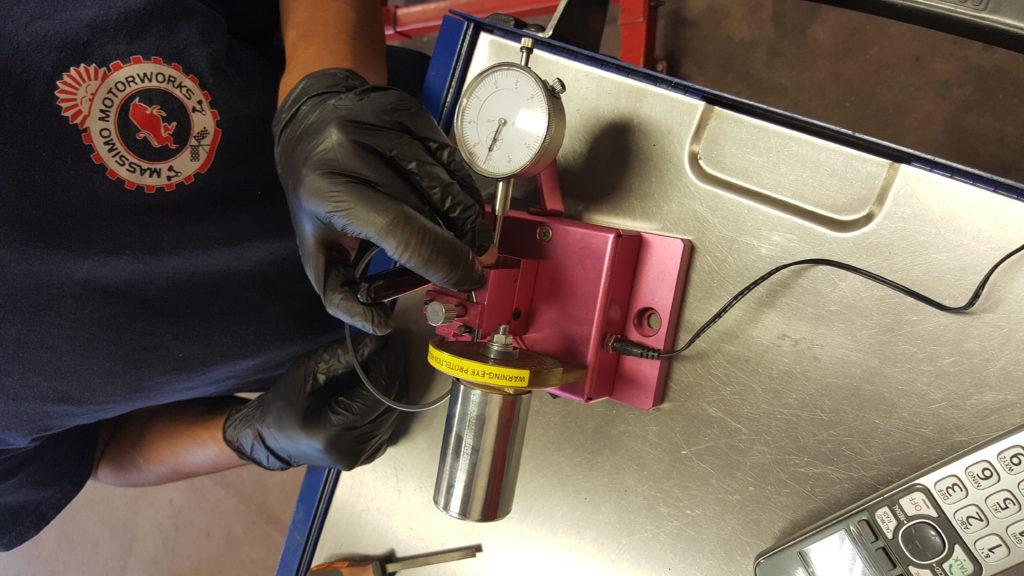 porsche 997 engine rebuild cutting piston ring